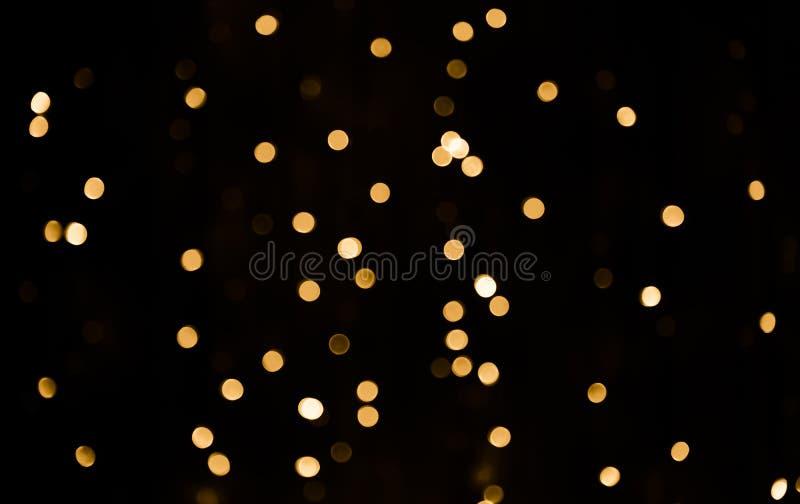 Belle texture de lumière de bokeh de recouvrement photographie stock