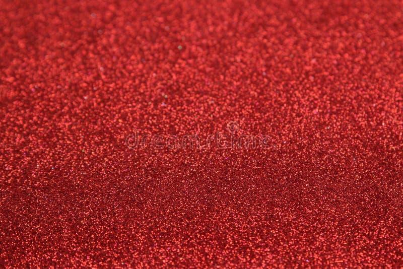 Belle texture des étincelles rouges fond de scintillement Texture brillante image libre de droits