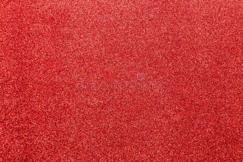 Belle texture des étincelles rouges fond de scintillement Texture brillante image stock
