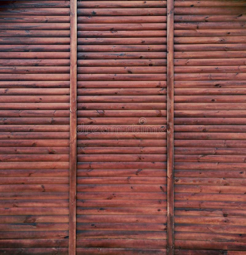 Belle texture en bois de cru Fond fané de conseils Contexte en bois de Brown Texture normale Configuration plate photo libre de droits