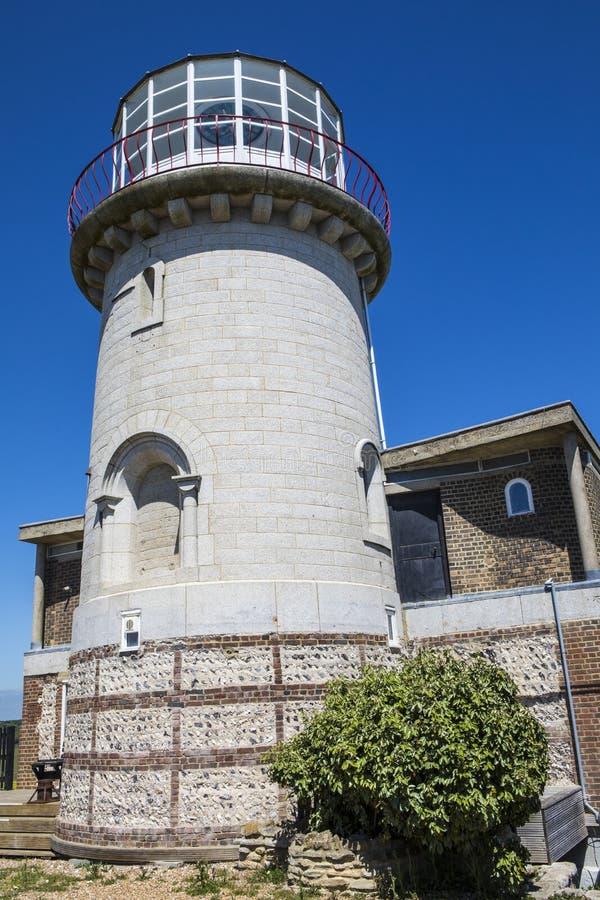 Belle Tout Lighthouse nel Regno Unito fotografia stock