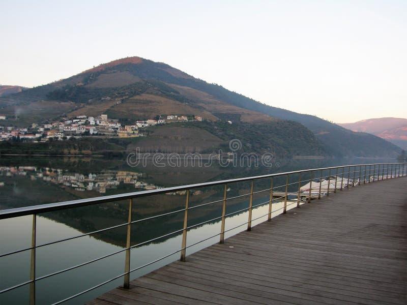 Belle vallée Portugal de Douro photo stock