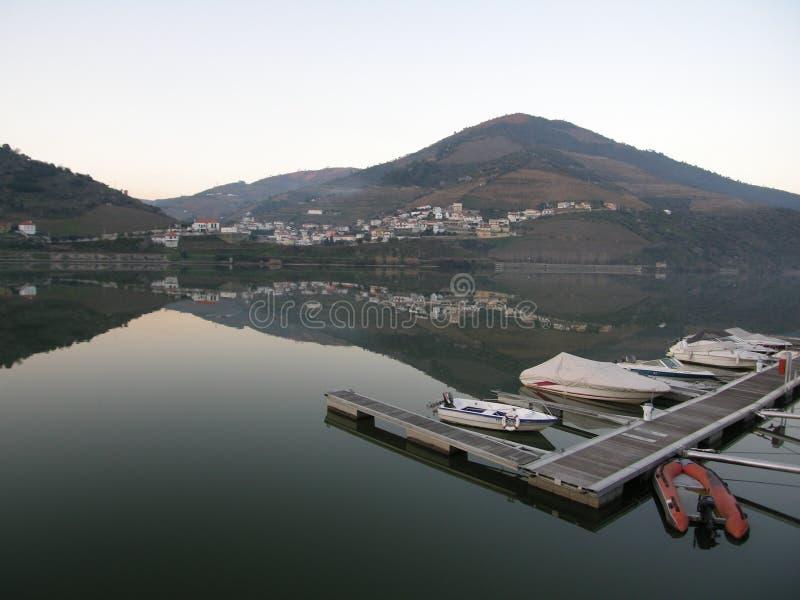 Belle vallée Quinta Portugal de Douro photographie stock libre de droits