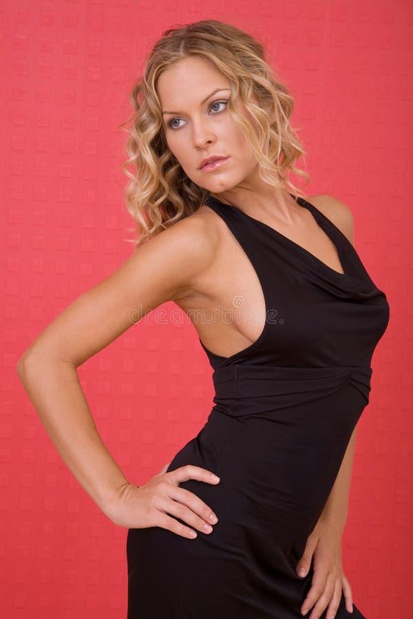 Belle verticale de femme photo stock