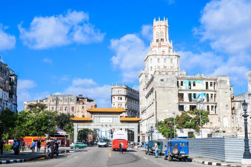 Belle vieille la Havane images stock
