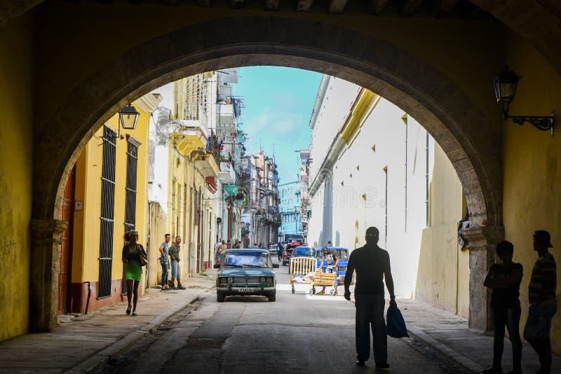 Belle vieille la Havane images libres de droits