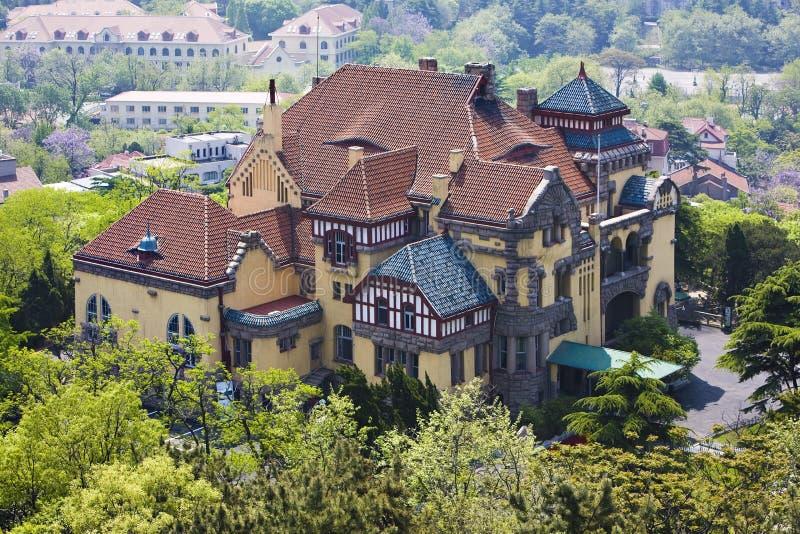 Belle villa photographie stock libre de droits