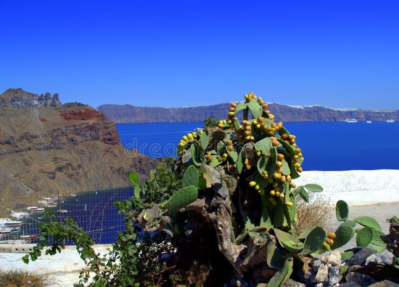 Belle vue d'île grecque photographie stock libre de droits