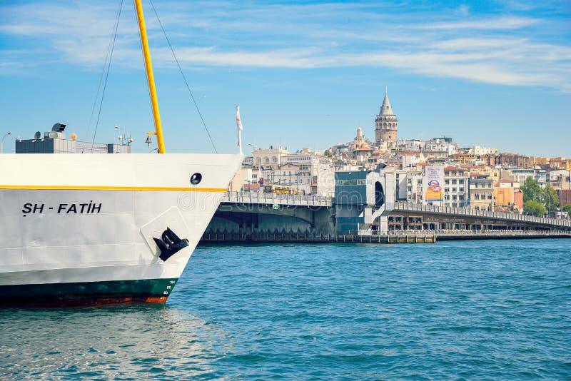 Belle vue d'Istanbul, paysage de ville photo libre de droits