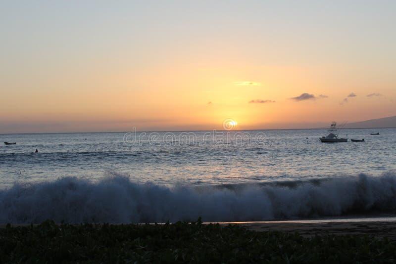 Belle vue d'océan image stock