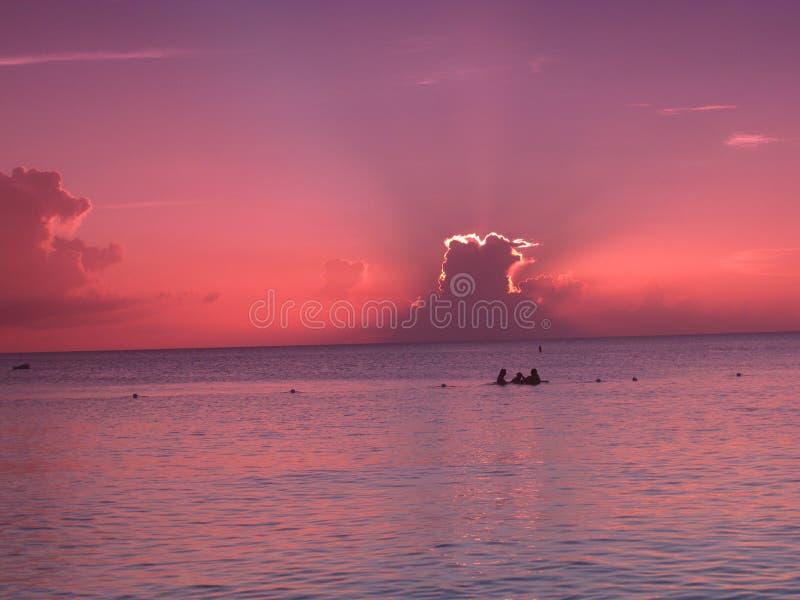 Belle vue d'océan photos stock