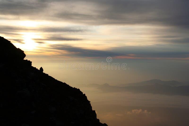 Belle vue de Fuji images libres de droits