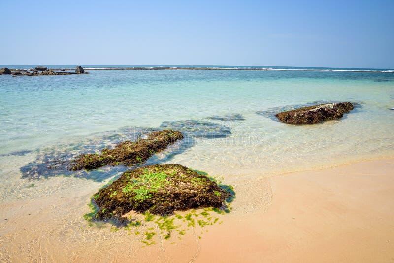 Belle vue de l'océan photo stock