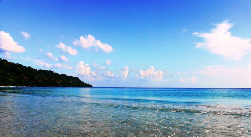 Belle vue de l'océan photographie stock libre de droits