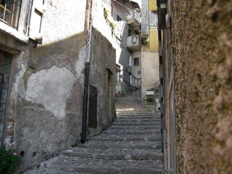 Belle vue de la rue italienne image libre de droits