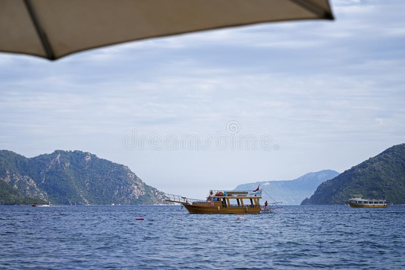 Belle vue de Marmaris photos stock