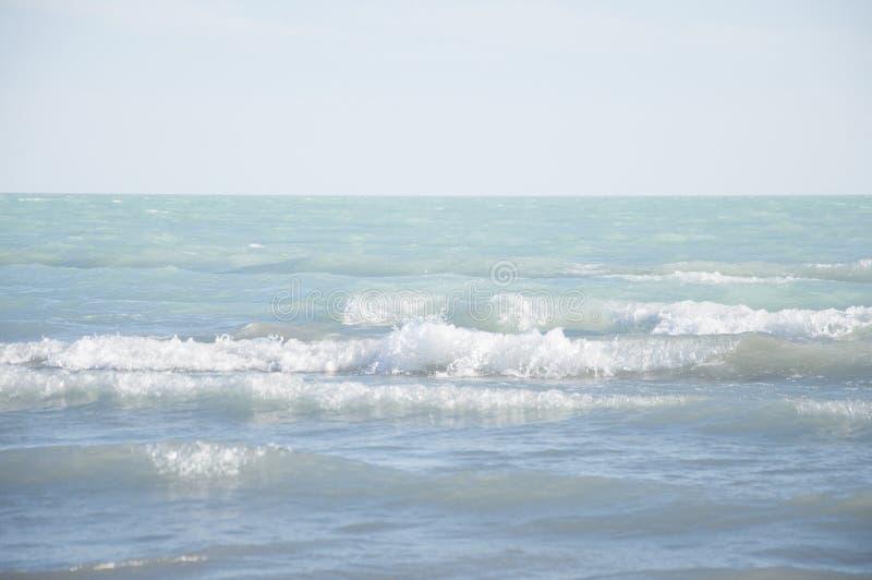 Belle vue de paysage marin image stock