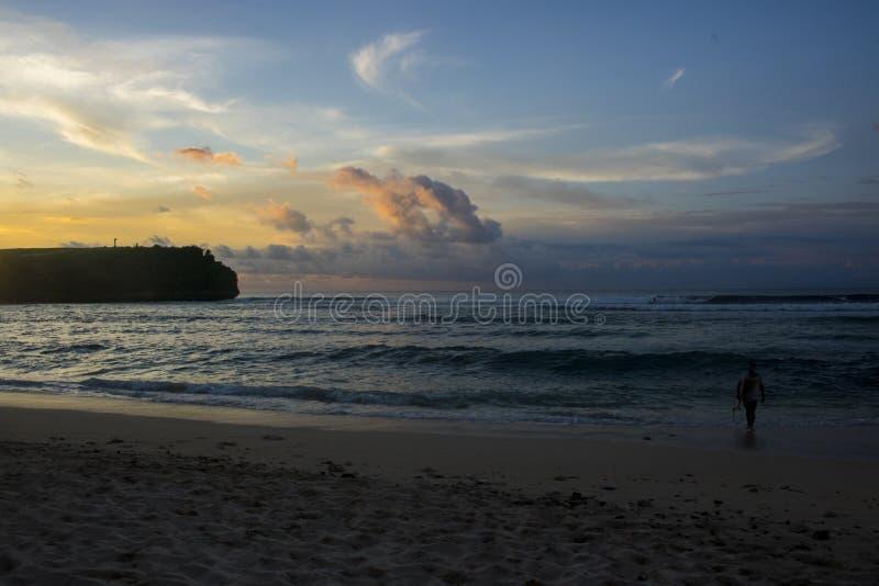 belle vue de plage d'été photo libre de droits