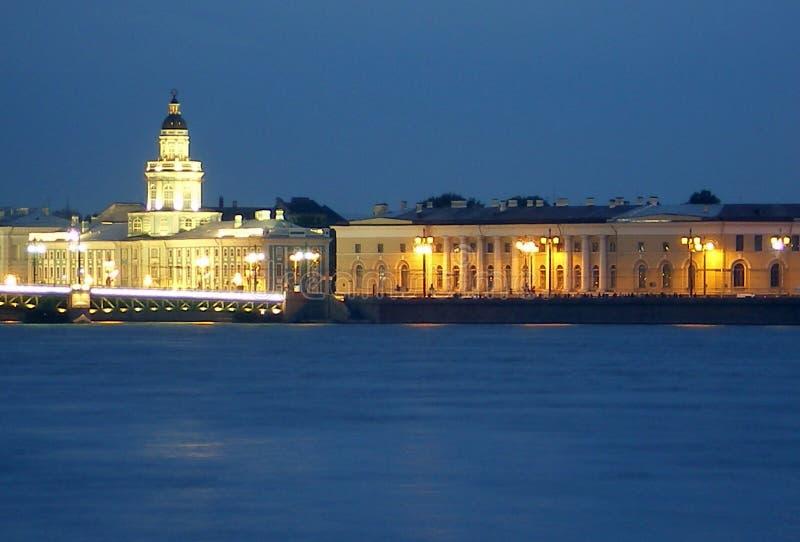 Belle vue de St Petersburg. photo libre de droits
