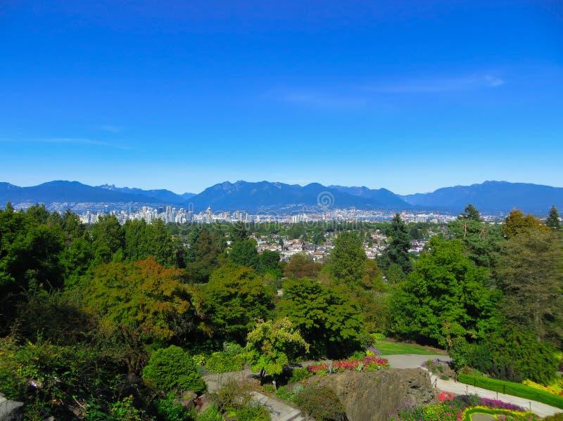 Belle vue de Vancouver, Colombie-Britannique, Canada image stock