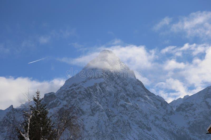 Belle vue près de Lermoos, Autriche images libres de droits