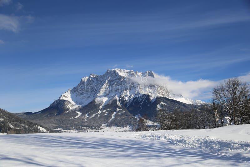 Belle vue près de Lermoos, Autriche photo stock