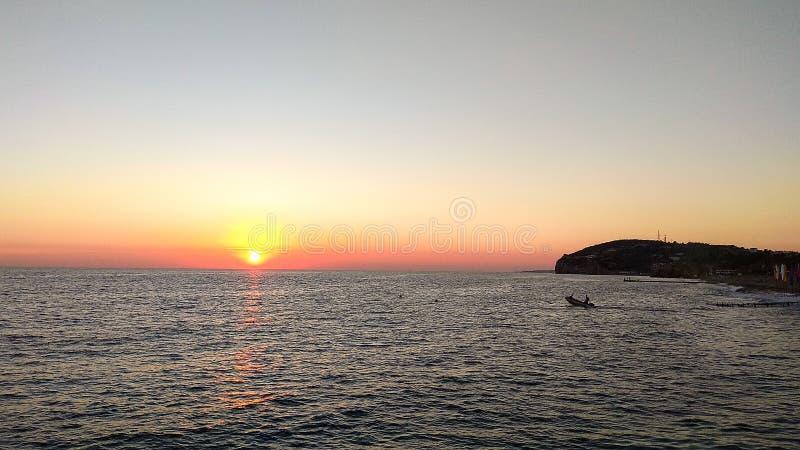 Belle vue sur la Riviera turque image stock