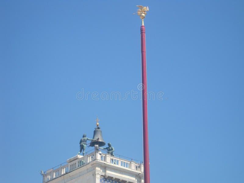 Belles églises de Venise en été images stock