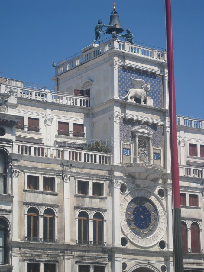 Belles églises de Venise en été photo libre de droits