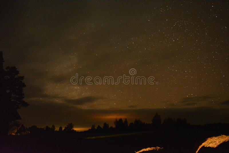 Belles étoiles photos stock