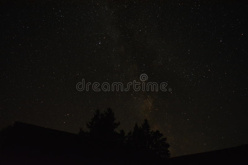 Belles étoiles image stock
