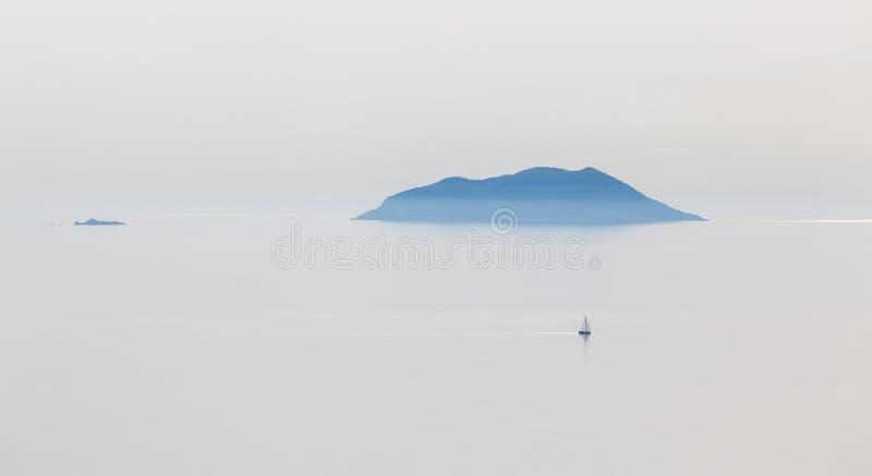 Belles îles croates photographie stock libre de droits