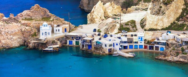 Belles îles grecques - Milos photo stock
