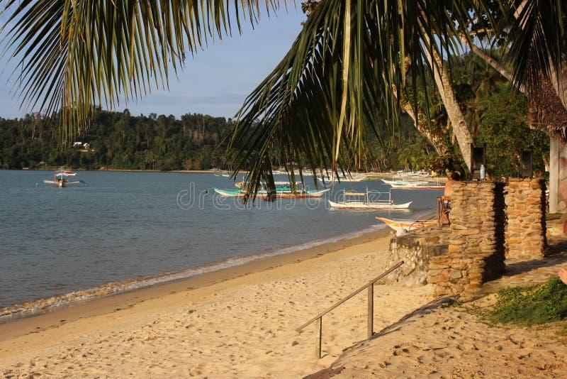 Belles îles tropicales - Palawan stupéfiant, Philippines image libre de droits