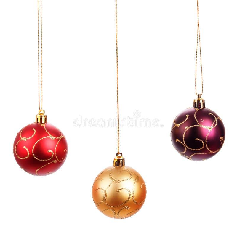 Belles boules de Noël photographie stock