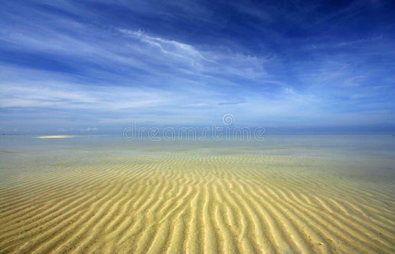 Belles configurations de sable photos libres de droits