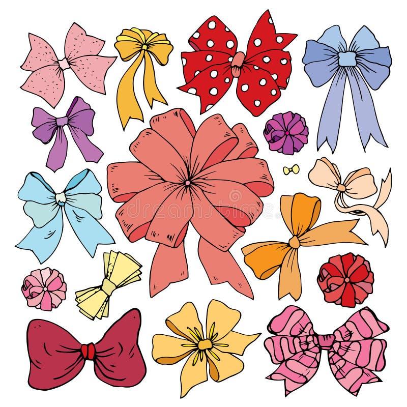 Belles couleurs d'arc de décoration image libre de droits