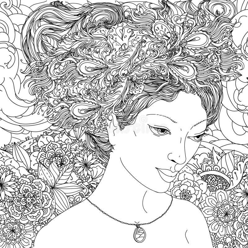 Belles femmes de mode illustration libre de droits