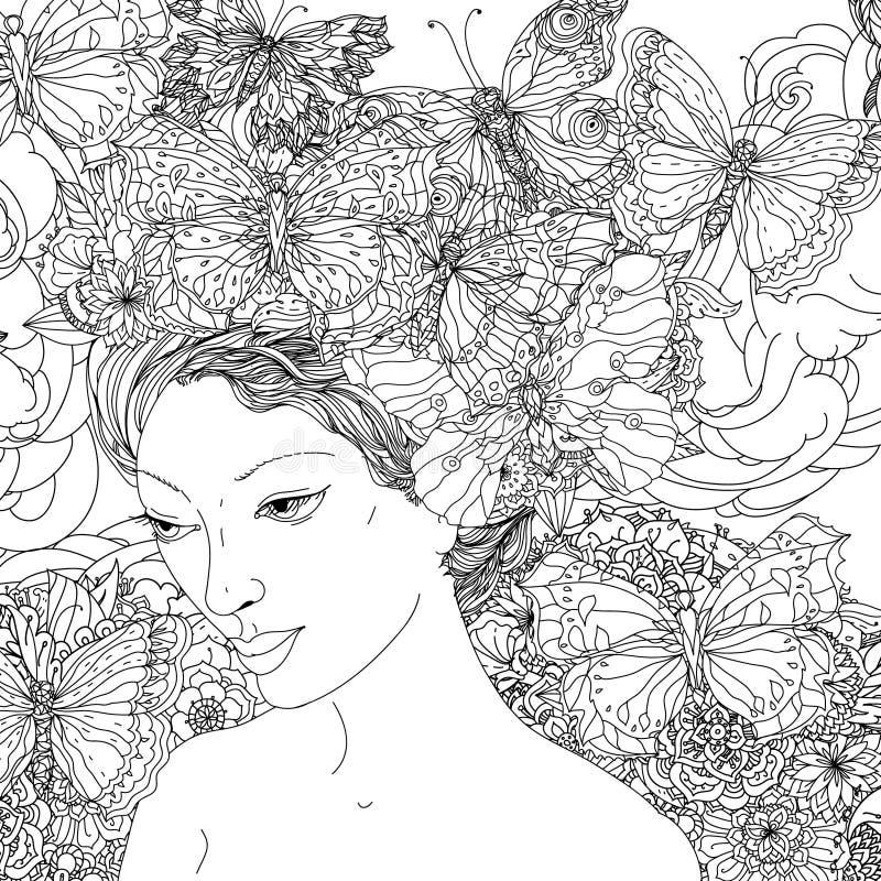 Belles femmes de mode illustration de vecteur