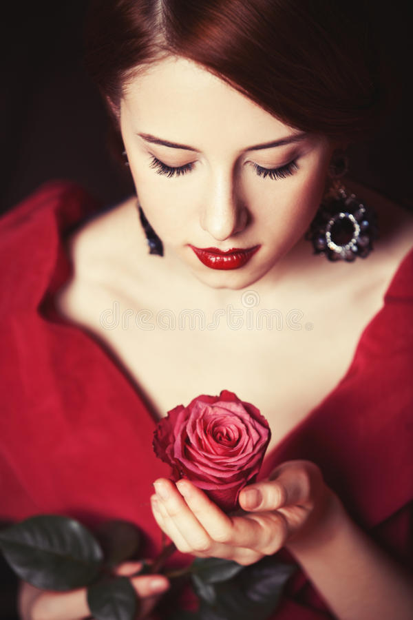 Belles femmes rousses images libres de droits