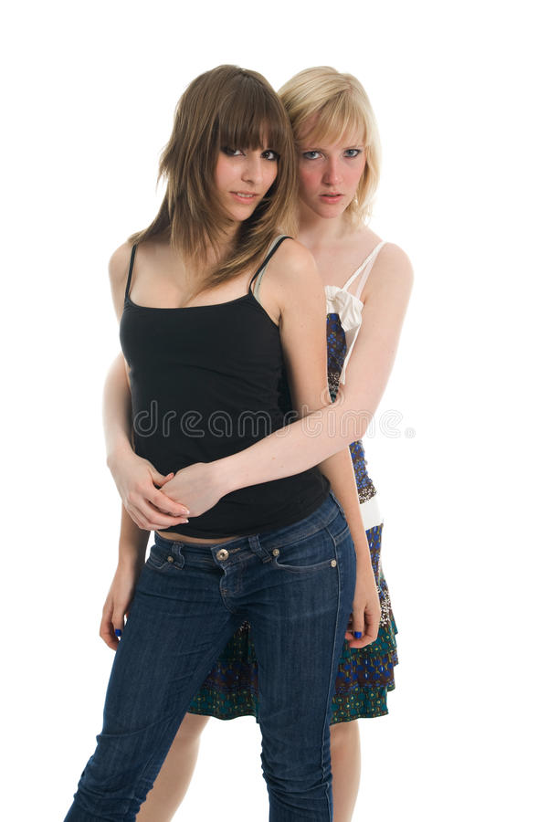 Belles filles d'adolescent images libres de droits
