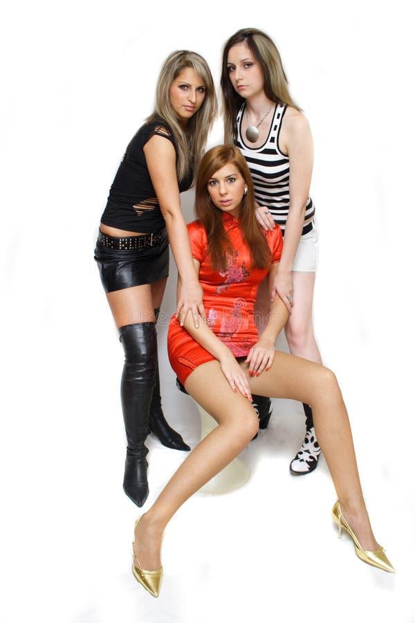 Belles filles de mode images stock