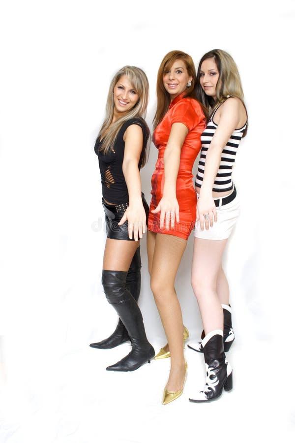 Belles filles de mode image stock