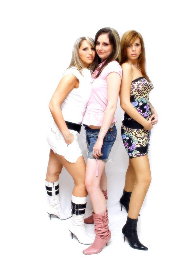 Belles filles de réception images libres de droits