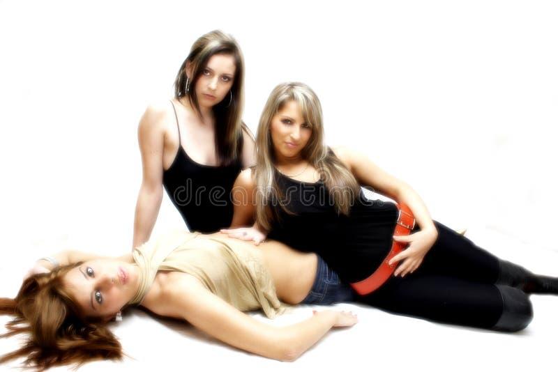Belles filles sexy photo libre de droits
