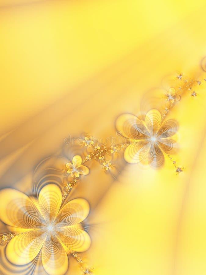 Belles fleurs illustration libre de droits