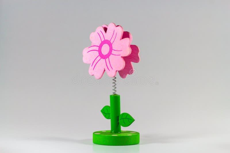 Belles fleurs faites main par les tissus colorés de feutre images stock