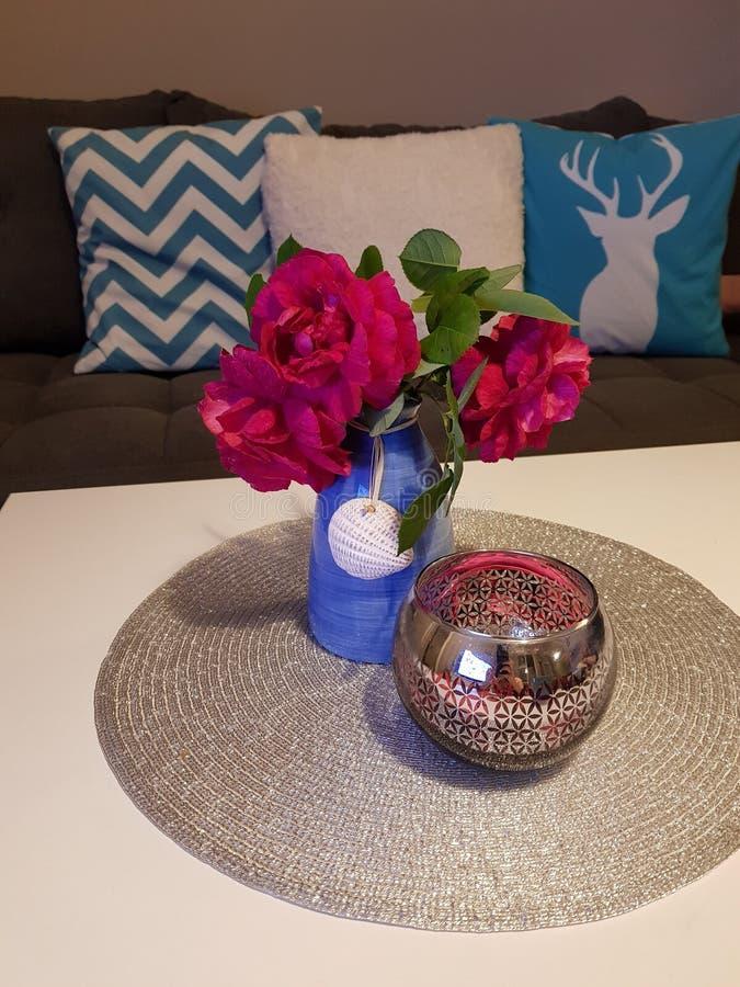 Belles fleurs organiques photos stock