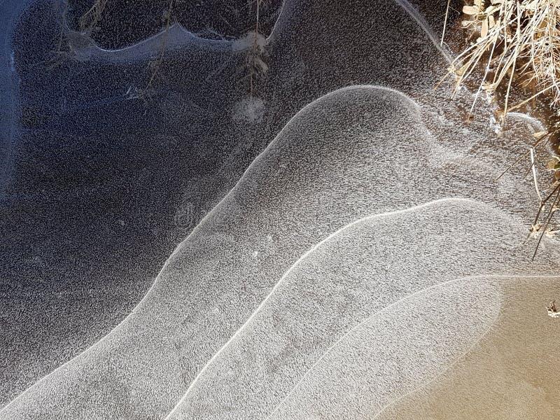 Belles images de glace, de l'eau et de terre en Cañadas del Teide, Ténérife 11 images stock