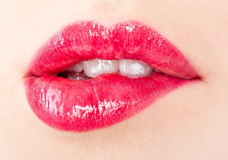 Belles languettes du `un s de fille photos stock